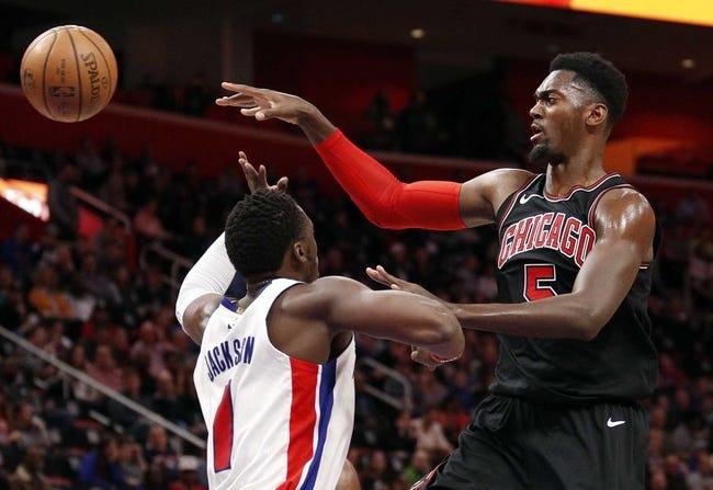 Chicago Bulls vs. Detroit Pistons - 4/11/18 NBA Pick, Odds, and Prediction