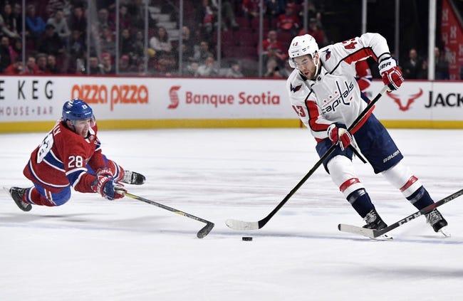 Montreal Canadiens vs. Washington Capitals - 11/1/18 NHL Pick, Odds, and Prediction