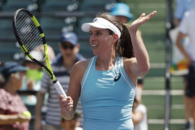 Venus Williams vs. Johanna Konta 2018 Miami Open Tennis Pick, Odds, Prediction