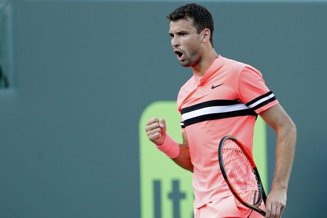 Grigor Dimitrov vs. David Goffin 2018 Monte Carlo Masters Tennis Pick, Preview, Odds, Prediction