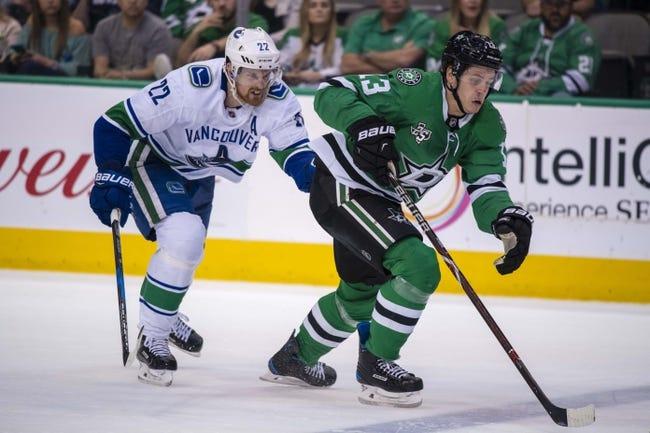 NHL | Dallas Stars (13-10-3) at Vancouver Canucks (11-14-3)