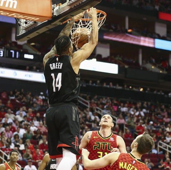 NBA | Atlanta Hawks at Houston Rockets