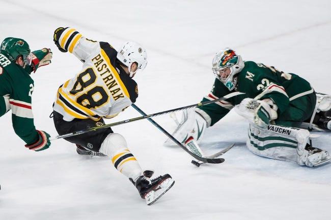 NHL | Minnesota Wild at Boston Bruins