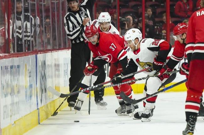 NHL | Carolina Hurricanes at Ottawa Senators