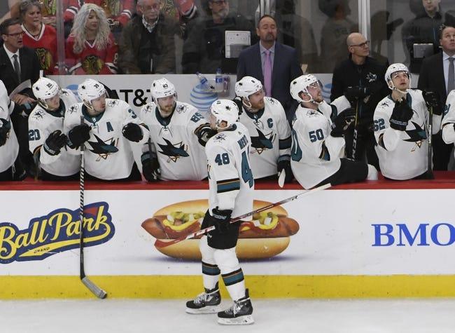 NHL | San Jose Sharks (17-11-5) at Chicago Blackhawks (10-18-6)