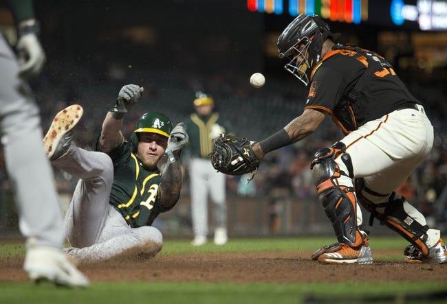 San Francisco Giants vs. Oakland Athletics - 7/13/18 MLB Pick, Odds, and Prediction