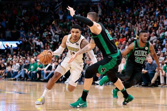 Denver Nuggets vs. Boston Celtics - 11/5/18 NBA Pick, Odds, and Prediction