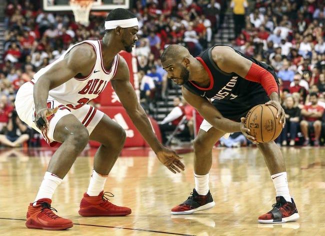 Chicago Bulls vs. Houston Rockets - 11/3/18 NBA Pick, Odds, and Prediction