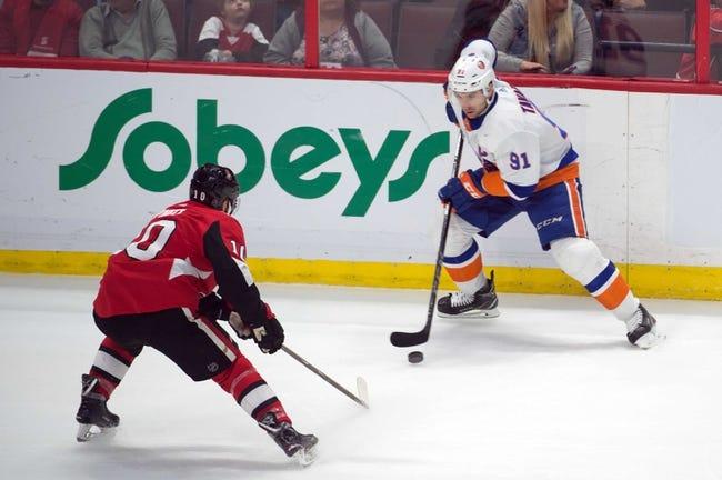 NHL | Ottawa Senators (15-18-4) at New York Islanders (18-13-4)