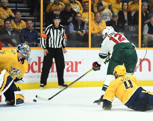 NHL   Minnesota Wild (1-1-2) at Nashville Predators (4-1-0)