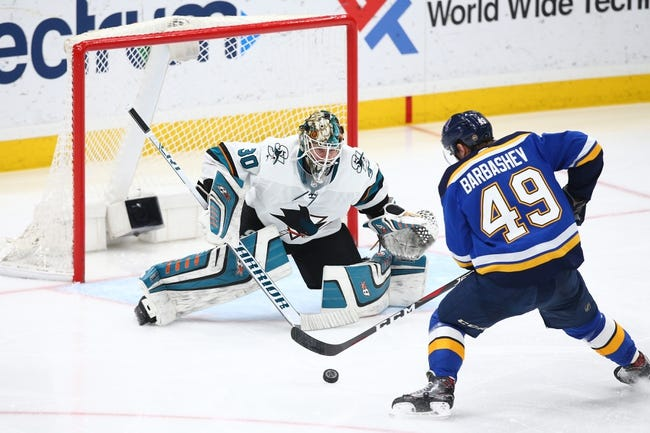 NHL | San Jose Sharks (8-4-3) at St. Louis Blues (5-5-3)