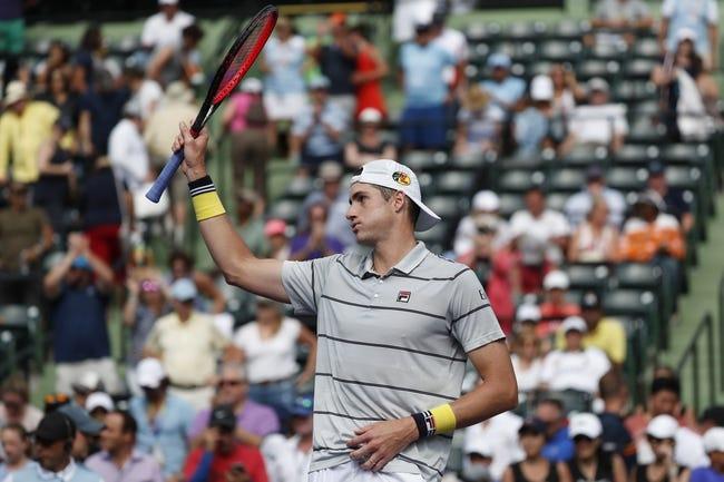 John Isner vs. Juan Martin Del Potro 2018 Miami Open Tennis Pick, Preview, Odds, Prediction