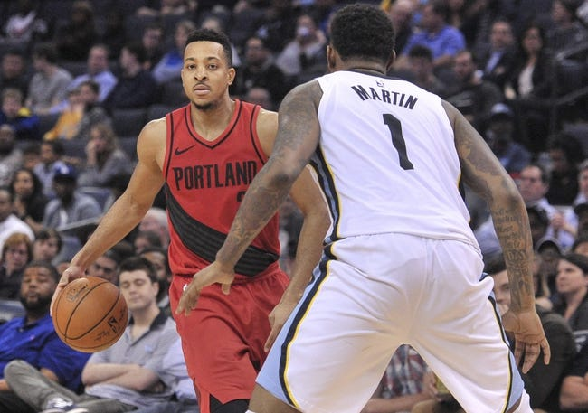 Portland Trail Blazers vs. Memphis Grizzlies - 4/1/18 NBA Pick, Odds, and Prediction