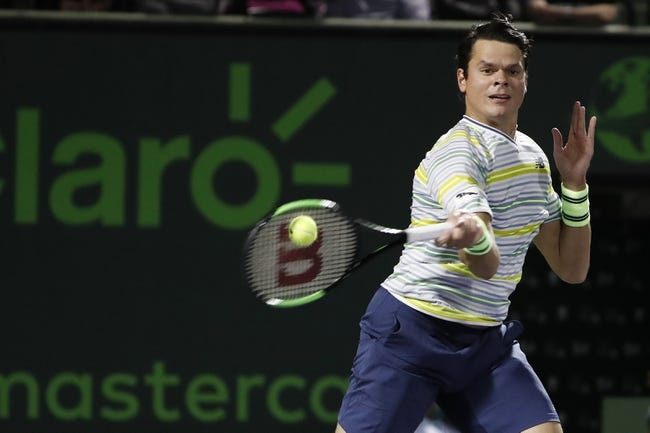 Milos Raonic vs Mirza Basic 2018 ATP Stuttgart Tennis Pick, Preview, Odds, Prediction