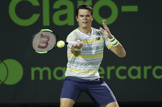 Mackenzie McDonald vs. Milos Raonic 2018 Wimbledon Tennis Pick, Preview, Odds, Prediction