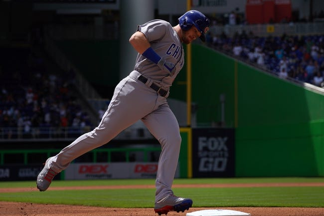 Miami Marlins vs. Chicago Cubs - 3/30/18 MLB Pick, Odds, and Prediction