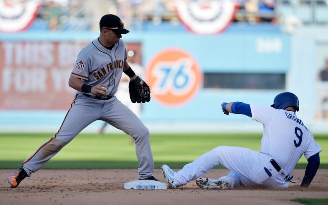 Los Angeles Dodgers vs. San Francisco Giants - 3/30/18 MLB Pick, Odds, and Prediction