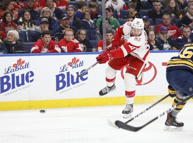 NHL   Detroit Red Wings at Buffalo Sabres