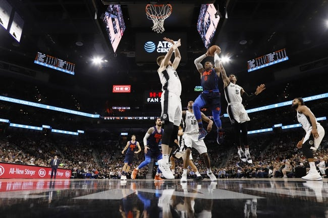 NBA | Oklahoma City Thunder at San Antonio Spurs