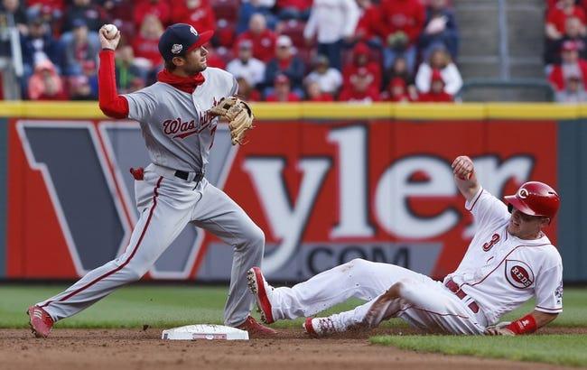 Cincinnati Reds vs. Washington Nationals - 3/31/18 MLB Pick, Odds, and Prediction