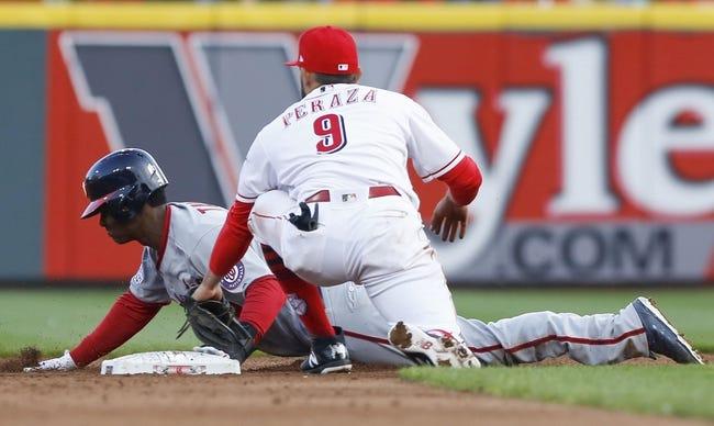 MLB | Washington Nationals (1-0) at Cincinnati Reds (0-1)