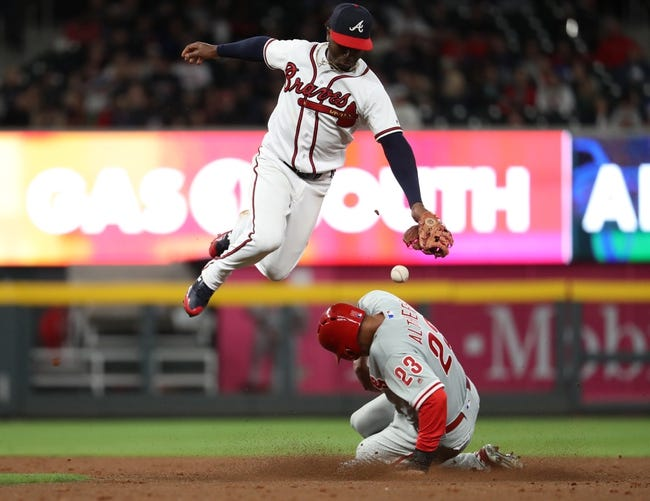 Atlanta Braves vs. Philadelphia Phillies - 3/31/18 MLB Pick, Odds, and Prediction
