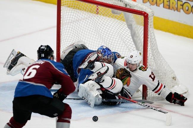 NHL | Chicago Blackhawks (12-19-6) at Colorado Avalanche (19-10-6)