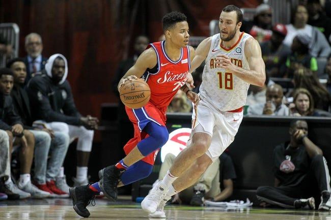 Atlanta Hawks vs. Philadelphia 76ers - 4/10/18 NBA Pick, Odds, and Prediction