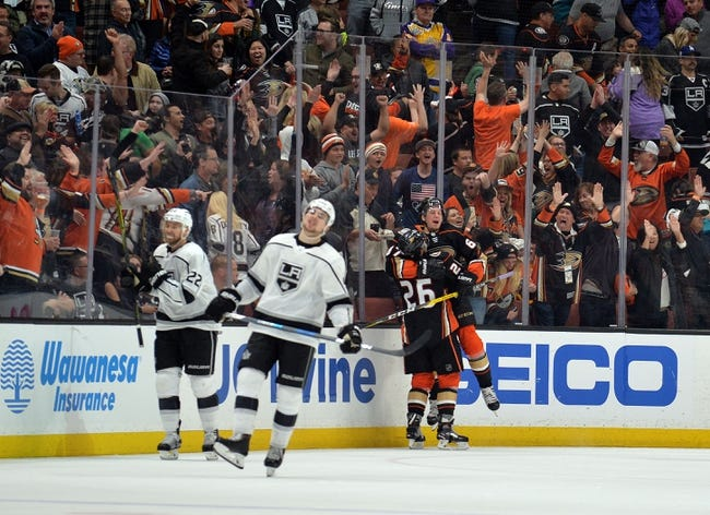 NHL | Anaheim Ducks (6-6-3) at Los Angeles Kings (4-8-1)