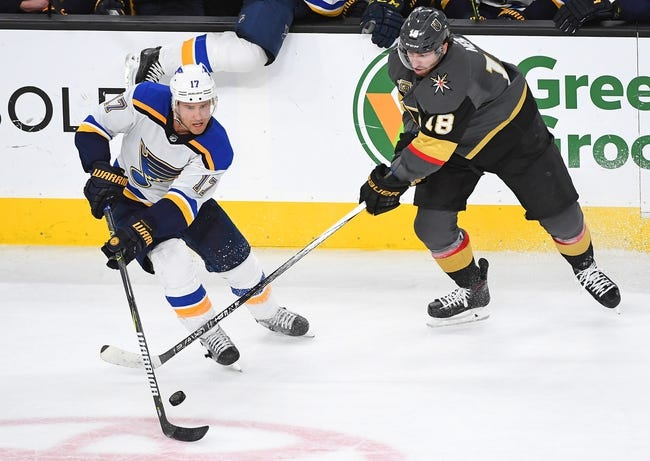 St. Louis Blues vs. Vegas Golden Knights - 11/1/18 NHL Pick, Odds, and Prediction