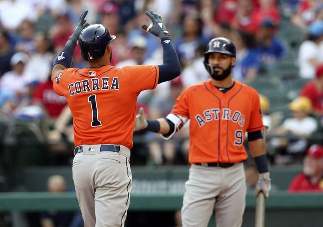 Texas Rangers vs. Houston Astros - 4/1/18 MLB Pick, Odds, and Prediction