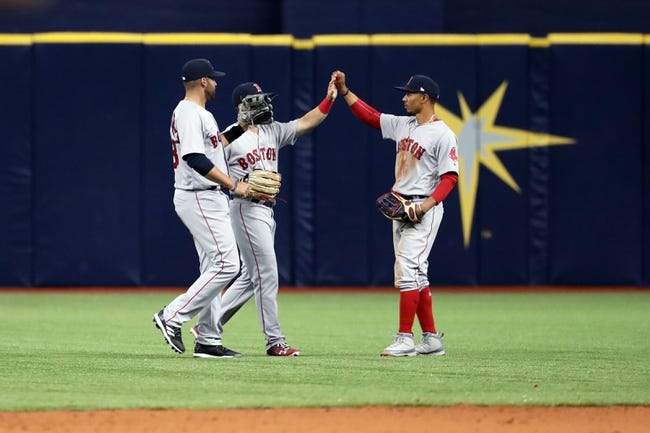 MLB | Boston Red Sox (2-1) at Tampa Bay Rays (1-2)