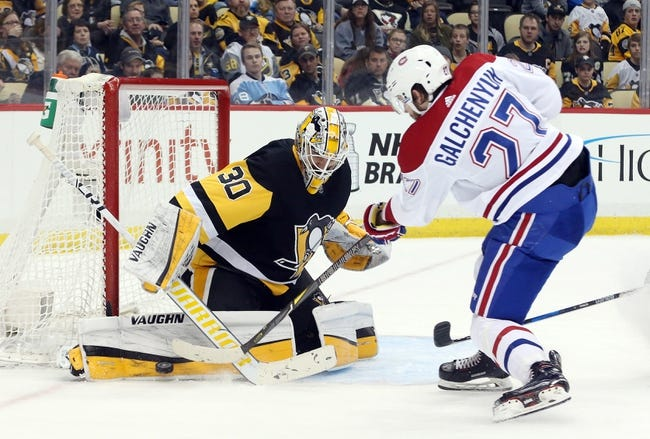 NHL | Montreal Canadiens (0-0-1) at Pittsburgh Penguins (1-0-0)