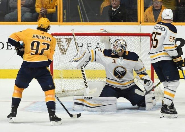 NHL | Buffalo Sabres (17-7-3) at Nashville Predators (18-8-1)