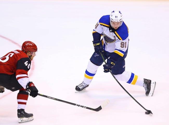 Arizona Coyotes vs. St. Louis Blues - 12/1/18 NHL Pick, Odds, and Prediction