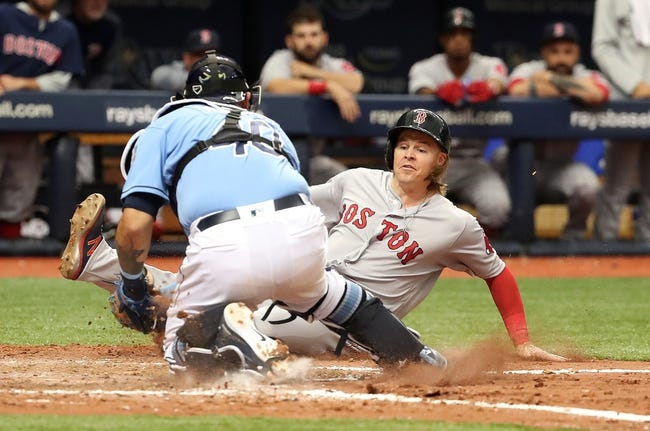 Boston Red Sox vs. Tampa Bay Rays - 4/5/18 MLB Pick, Odds, and Prediction