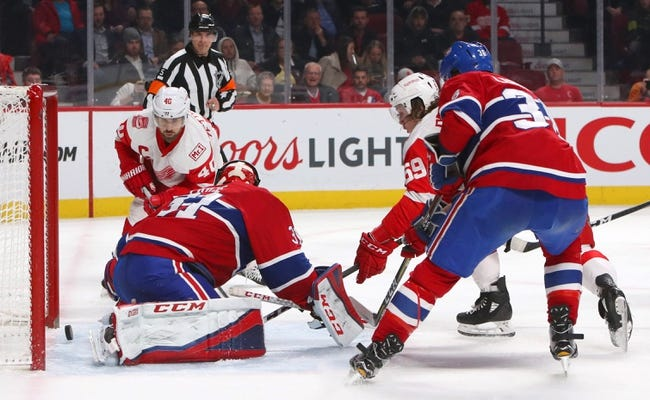 Detroit Red Wings vs. Montreal Canadiens - 4/5/18 NHL Pick, Odds, and Prediction