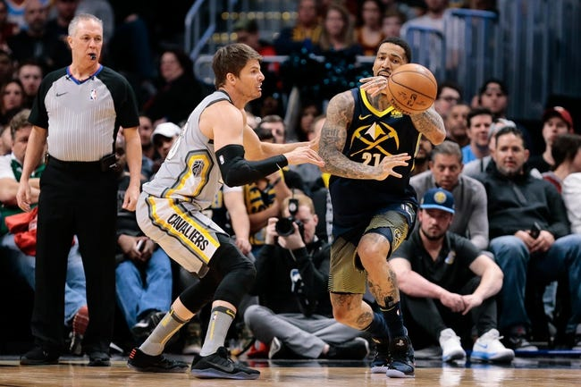 Cleveland Cavaliers vs. Denver Nuggets - 11/1/18 NBA Pick, Odds, and Prediction