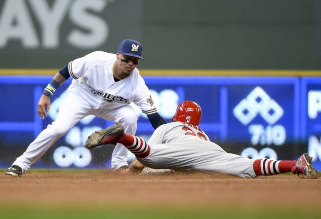 MLB | St. Louis Cardinals (1-2) at Milwaukee Brewers (3-0)