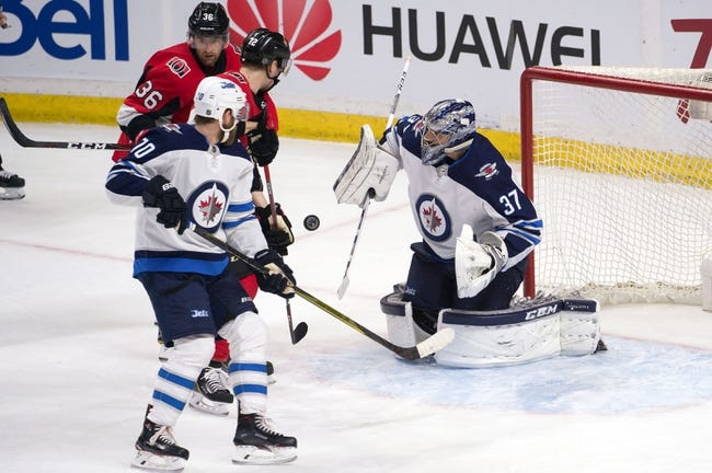 NHL   Winnipeg Jets at Ottawa Senators