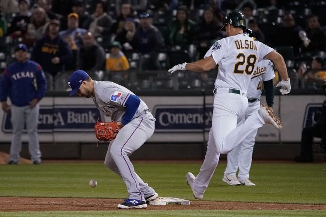 Oakland Athletics vs. Texas Rangers - 4/3/18 MLB Pick, Odds, and Prediction