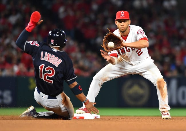 MLB | Cleveland Indians (2-2) at Los Angeles Angels (3-2)