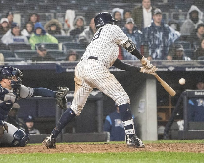 New York Yankees vs. Tampa Bay Rays - 4/4/18 MLB Pick, Odds, and Prediction