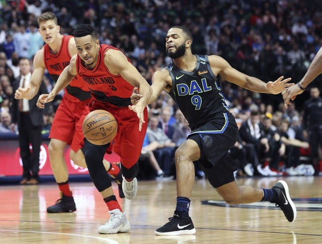 NBA | Portland Trail Blazers (13-10) at Dallas Mavericks (11-10)
