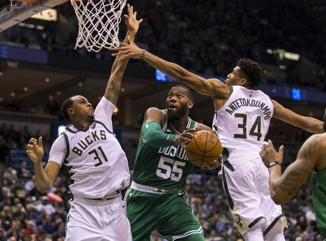 Boston Celtics vs. Milwaukee Bucks - 4/15/18 NBA Pick, Odds, and Prediction