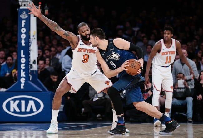 New York Knicks vs. Orlando Magic - 11/11/18 NBA Pick, Odds, and Prediction