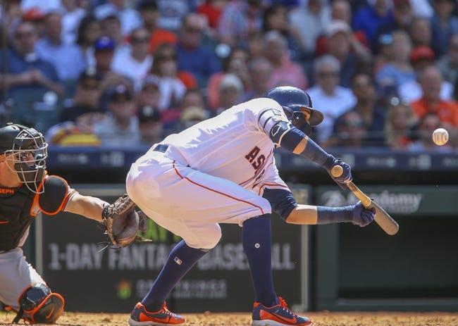 Baltimore Orioles vs. Houston Astros - 9/27/18 MLB Pick, Odds, and Prediction