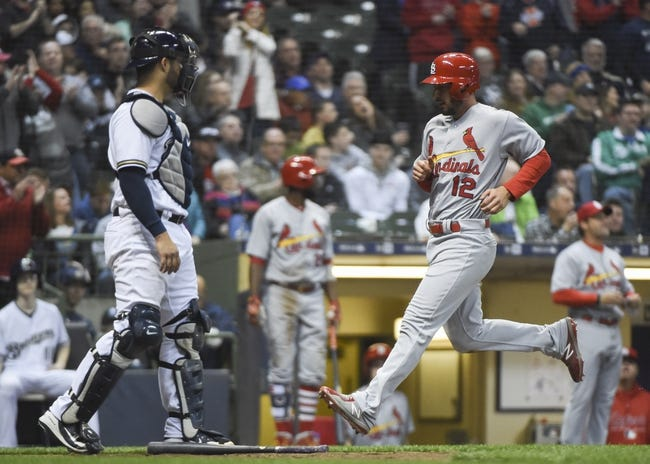 St. Louis Cardinals vs. Milwaukee Brewers - 4/9/18 MLB Pick, Odds, and Prediction