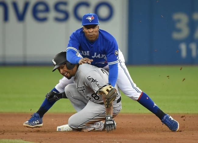 Chicago White Sox vs. Toronto Blue Jays - 7/27/18 MLB Pick, Odds, and Prediction