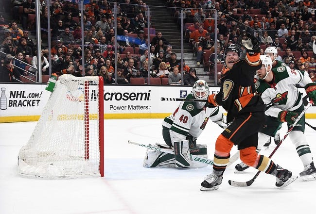 NHL | Minnesota Wild (9-4-2) at Anaheim Ducks (7-7-3)